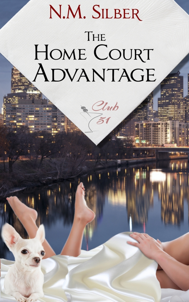 [Book tour] The Home Court Advantage (Lawyers in Love #2) - N.M. Silber