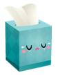 caixa de lenços triste
