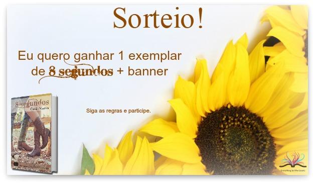 Sorteio - 8 segundos, Camila Moreira
