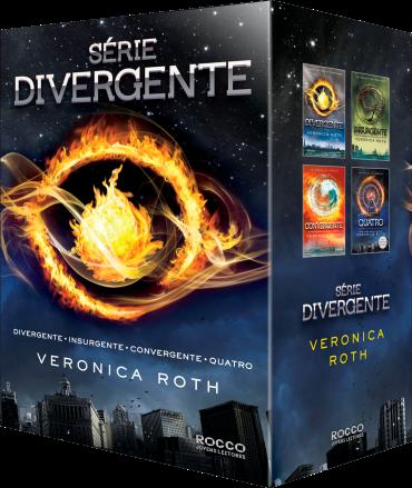box da Série Divergente, de Veronica Roth