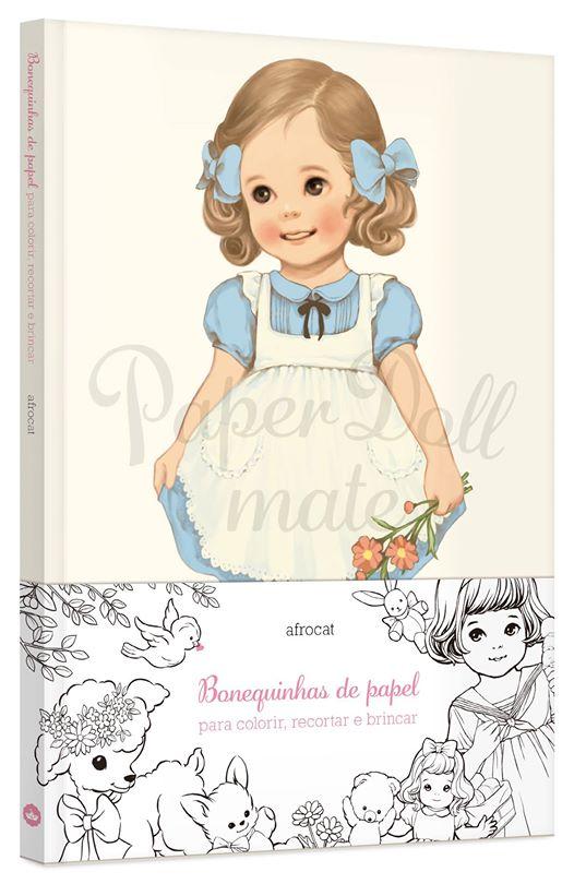 @galerarecord lança primeiro livro de colorir direcionado ao público infantil - Paper Doll Mate