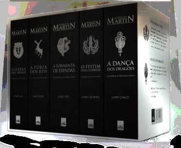 box prata de As Crônicas de Gelo e Fogo, de George R. R. Martin 1