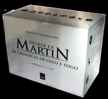 box prata de As Crônicas de Gelo e Fogo, de George R. R. Martin