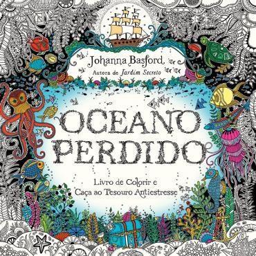 Oceano Perdido, de Johanna Basford - @sextante