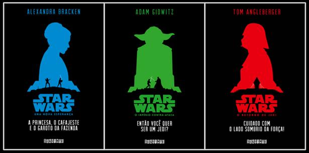 Os novos livros de Star Wars pela Seguinte