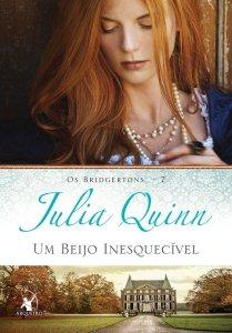 Um Beijo Inesquecível – Os Bridgertons #7, de Julia Quinn - Editora Arqueiro