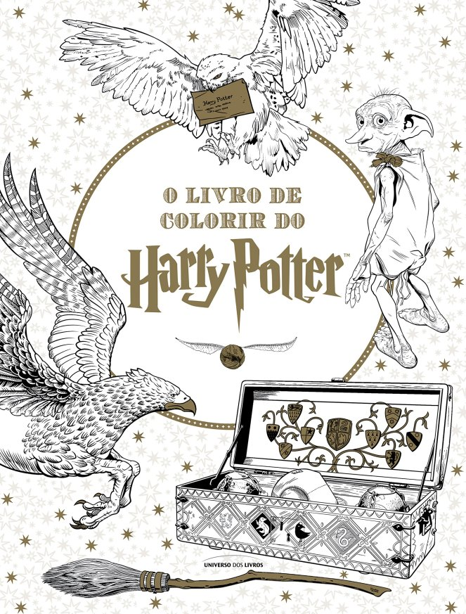 O Livro de Colorir do Harry Potter - @univdoslivros
