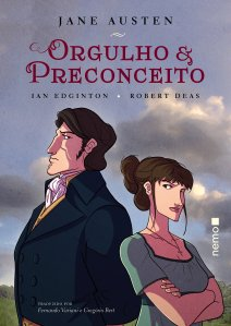 Orgulho e Preconceito, de Jane Austen (em quadrinhos) - Editora Nemo
